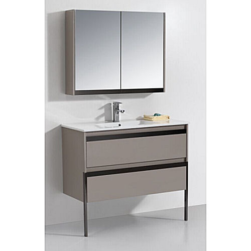 Small Wall Hung Vanity Cabinet Set Bgss078 1000 Wholesale Pricing